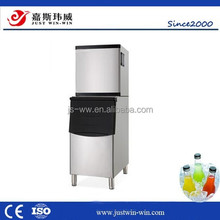 JSWW high quality made in china food trailer tuna ice maker machine/Commercial Environmental cube ice machinery