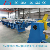 YKA228 widely used roll bending electric jewelry roof ridged roll forming machine