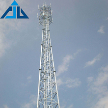 Competitive price china manufacture 3 legged triangular radio telecom tower
