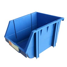 plastic warehouse stacking and back hanging Storage Boxes work bin