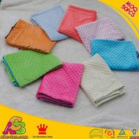 only 50pcs MOQ 16% off 2016 new designs Oeko Tex 100 skin-friendly minky soft touch baby blanket
