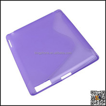 CASE for ipad 3 tpu back protective cover with Value Added Tax