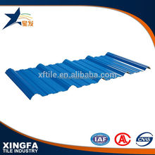 Sound insulation UPVC trapezium vinyl plastic sheet pvc roofing tile