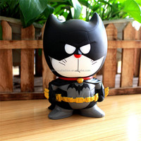 Wholesale PVC Doraemon COS batman piggy bank car furnishing articles