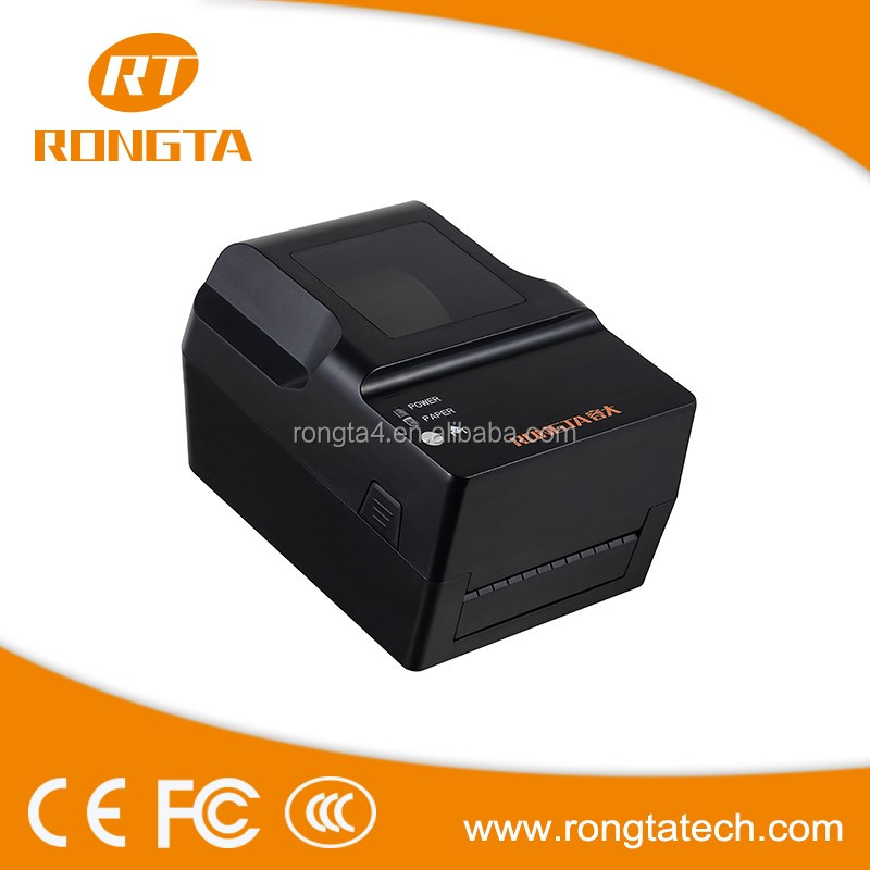 Rongta brand Support various label software textile barcode label printer RP400