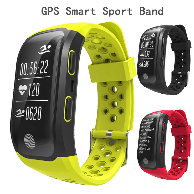 2017 waterproof IP68 smart band,heart rate monitor multi mode smart fitness band S908 with ECG function