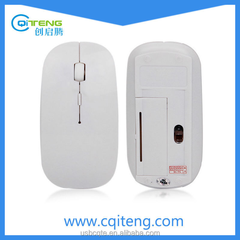 Hot Selling Slim Unique 2.4G Cheap Wireless Mouse for Macbook and PC
