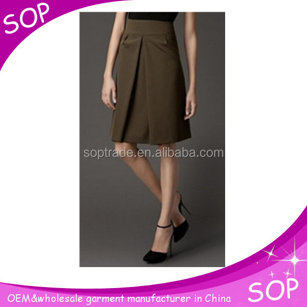 China suppliers cheap indian style back zip skirts