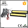 Waterproof Aluminum High Power 6W 6000K Xenon Slim COB LED DRL Daylight Driving Daytime Running Light for All Vehicles