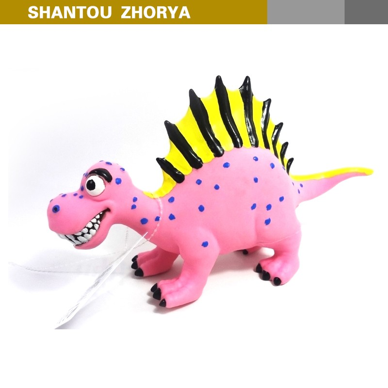 Fashion new style Spinosaurus model cartoon 10 inch special Spinosaurus pink toy dinosaur