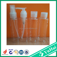 PET Plastic Type and Screw Cap Sealing Type plastic bottle 120ml