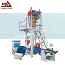 Has video SJ-45L extruder machine professional blow film machine