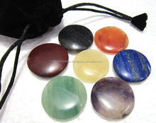 Chakra Plain Disc set with pouch : India Wholesale Chakra set