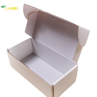 High Quality Recycled Kraft Paper Material White Corrugated Shipping Box