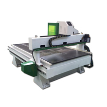 china cheap wood cutting cnc router machine with head cover