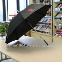 Chinese hand made golf umbrella distributor for sale