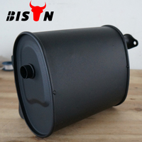 BISON China Best Price Generator Spare Parts Muffler 5kw Power Brand Generator Silencer Super Quiet Generator Muffler