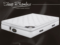 Healthy Memory Foam Mattress With Spinal Care Iron Bed Frame Removable Hotel Mattress Sets