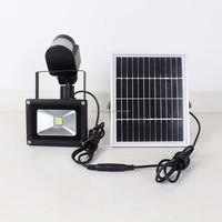 Solar Powered Panel LED Spot Light Stainles Landscape Garden Light