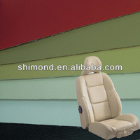 China New Design Artificial Car Seat PU Synthetic Leather