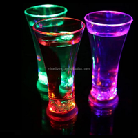 Wholesale Hot Selling Plastic Glowing Yard Glasses