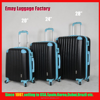 High Quality Travel Luggage Bags Trolley ABS luggage set