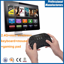 i8+ 2.4Ghz wireless mini keyboard smart keyboard Air Mouse with Touchpad for smart TV