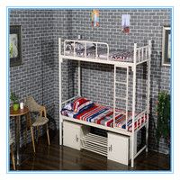 Double durable Military stackable spring bunk bed frame