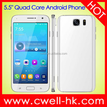 5.5 Inch IPS Touch Screen 1GB RAM/8GB ROM Quad Core CPU Android 5.1Metal Body Cell Phone X-BO S7