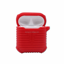 Hot selling silicone airpod <strong>case</strong> for Apple Airpod Anti-lost Sleeve Air pods