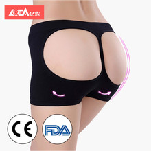 YIJIA 2018 women shapewear butt enhancer control panties sexy mesh lifter shorts