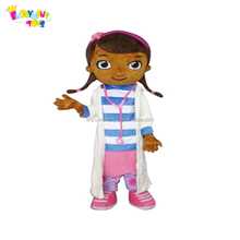 Promotional CE adult doc mcstuffins mascot costume,used mascot costumes for sale