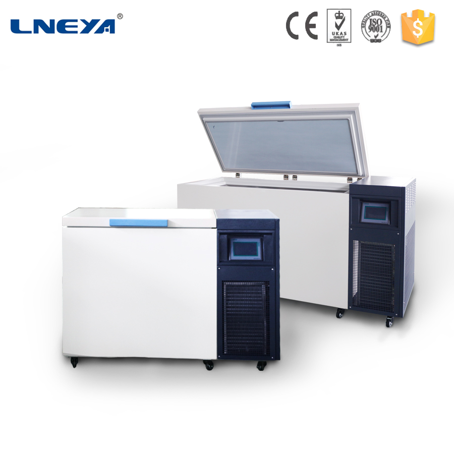 250L ultra Low temperature cryogenic freezer with electronic lock