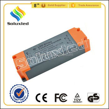 35W Constant Current LED Driver 300mA High PFC Non-stroboscopic With PC Cover For Indoor Lighting