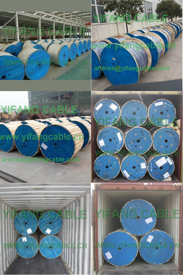 Copper Conductor Cathodic Protection Cable CPVV