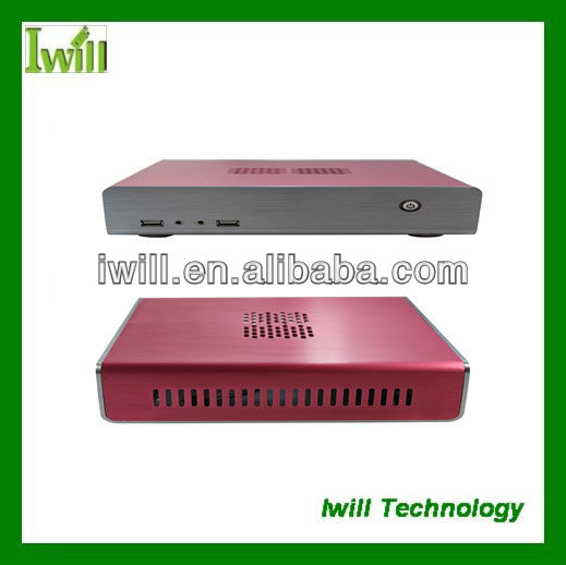 Iwill HT-60 mini itx desktop pc case for HTPC/Home/Office/Gaming