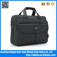 Wholesale ome shoulder Laptop Bag/Laptop messenger bag/Multi-functional Suit Fabric Portable Notebook Bag
