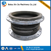 dn25-dn600 double sphere flexible flange type rubber expansion joints