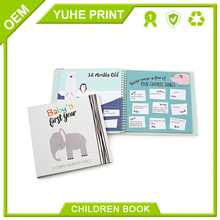 Sliver stamping with high quantity promotion good quality best price recycled paper high quality recordable baby book printing