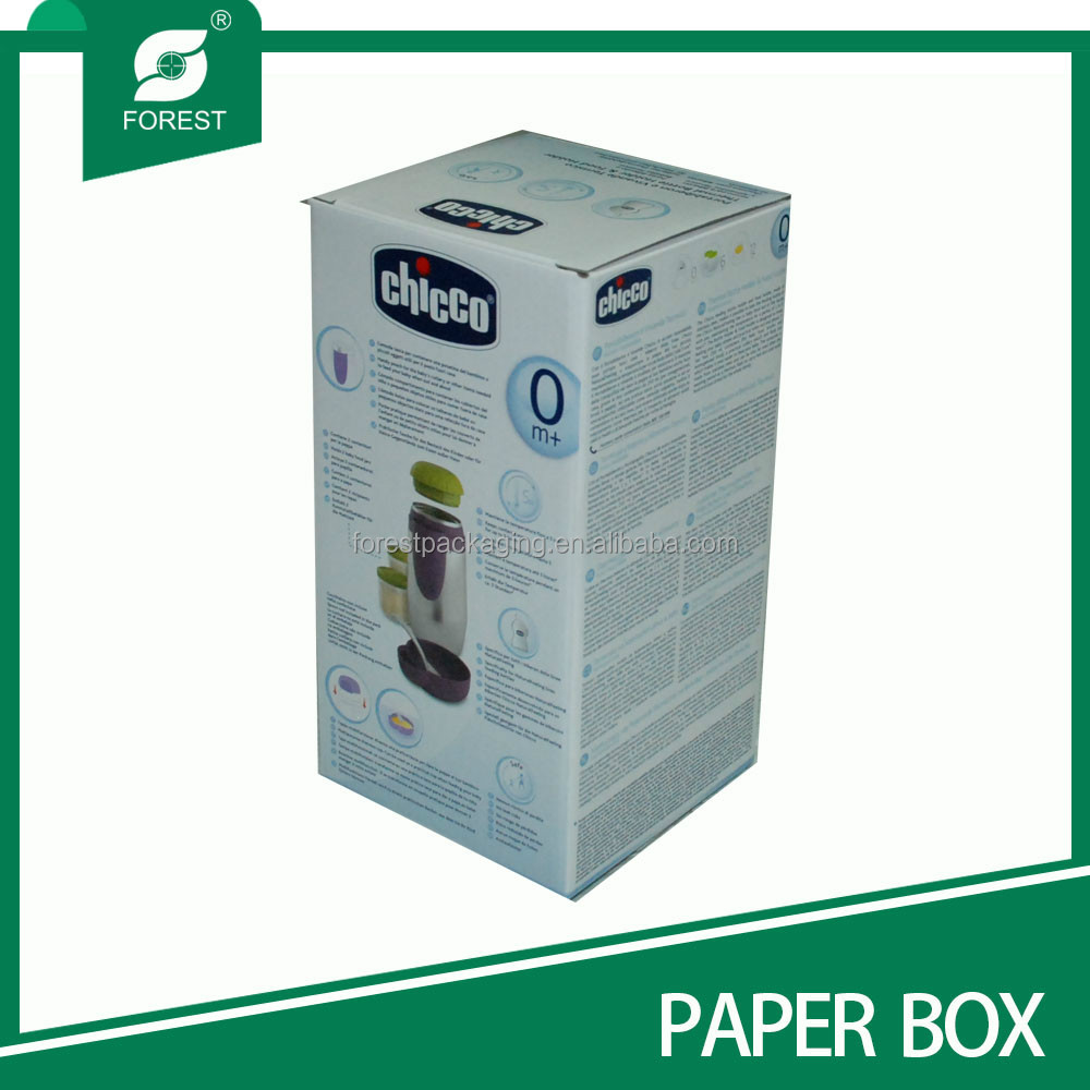 HIGH QUALITY UV COATING CORRUGATED VACUUM CUP PAPER PACKING BOX