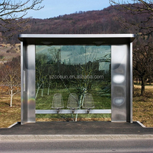 customize outdoor furniture standing bus shelter design