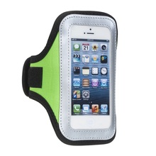 Green Gym Sports Running Armband Case for iPhone 5
