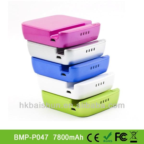 7800mAh power bank with stander function for all nokia model