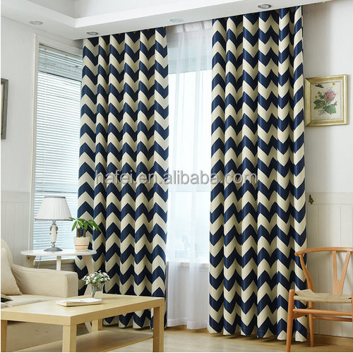 Japanese curtains fabric living room blackout fabric curtain