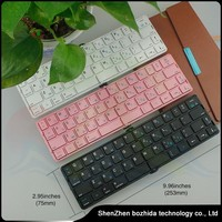 Factory Supply Mini Foldable Bluetooth Keyboard / Wireless Keyboard For Smartphone /tablet Pc,Laptop Gaming Computer Keyboard