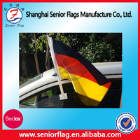 German country car flags, polyester fabric flag and pole