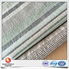 Quality Yarn dyed strip pattern poly cotton linen crepe fabric for fashion shirt