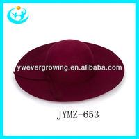 wholesale 2013 top fashion cheap beret caps lady wool cap and hat womens wool felt hats wide brim cap