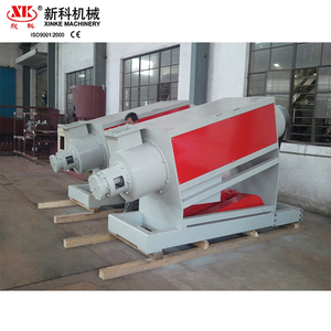 Automatic waste plastic recycling washing machine friction washer