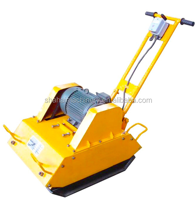 global brand plate compactor for road surface/asphalt plate compactor with working weight 242kg
